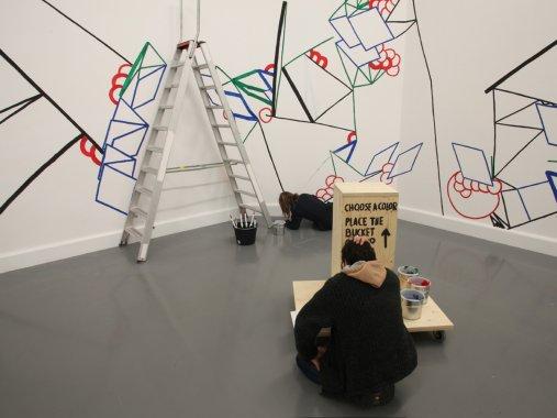 Vitruvian Paint Machine, Luna Maurer & Edo Paulus